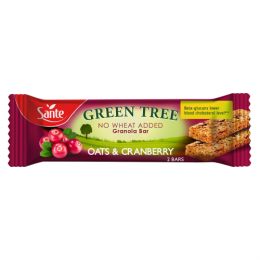 Cranberry granola bar